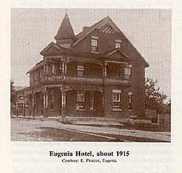 Historic Lake Eugenia Hotel, 1915