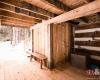 sauna in log chalet in kimberley