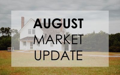 Real Estate Market Update for August 2021